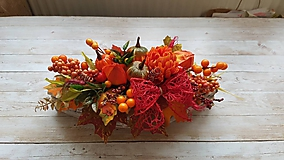Dekorácie - Jesenný aranžmán - 9911569_