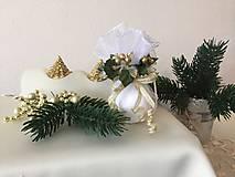 Dekorácie - Vianočná guľa III (bordová) - 9911034_