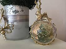 Dekorácie - Vianočná guľa II rezervované - 9911992_