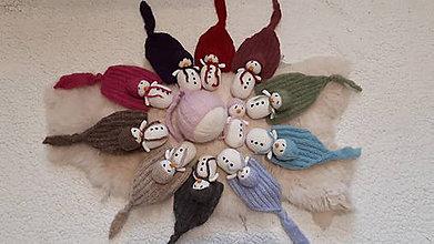 Detské čiapky - Vianočné fotenie so snehuliačikom - 9911165_