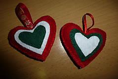 Drobnosti - vianočné srdiečko - 9910625_