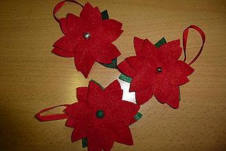 Drobnosti - vianočná ruža - 9910618_