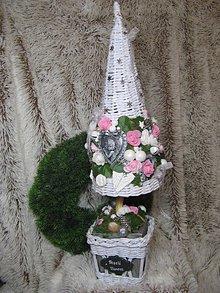 Dekorácie - Ružový sen -vianočný stromček - 9912450_