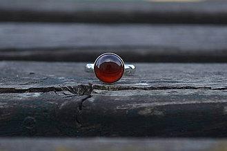 Prstene - Granát prsteň Ag 925 - 9911780_