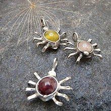 Náhrdelníky - Pavúčik pre šťastie - 9912781_