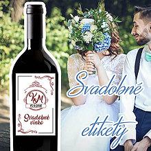 Darčeky pre svadobčanov - Svadobné etikety 42 - 9911363_