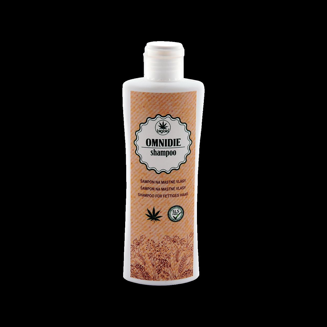 Omnidie - šampón na mastné vlasy 200ml