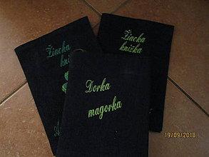 Drobnosti - RECY obaly na knihy a zošity z  rifloviny - 9913184_