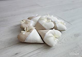 Darčeky pre svadobčanov - Smotanová svadba s vôňou levandule - 9913583_