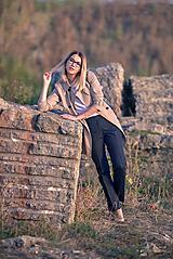Nohavice - Denimové nohavice - 9913524_