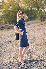 Šaty - Denimové šaty - 9913622_