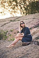 Šaty - Denimové šaty - 9913625_