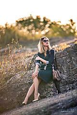 Šaty - Denimové šaty - 9913627_