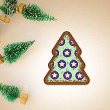 Grafika - Vianočné grafické perníky so vzorom - kapor (vianočné lízatko) - 9912337_