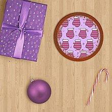 Grafika - Vianočné grafické perníky so vzorom - vianočná guľa (rukavice) - 9913273_