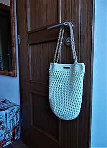 Veľké tašky - Taška háčkovaná - 9914028_