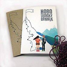 Papiernictvo - Horolezecký denník A6 - 9915374_