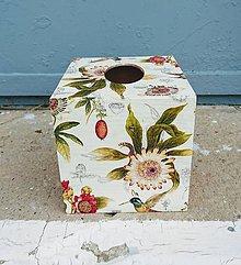 """Krabičky - Box na vreckovky """"Kolibríky"""" - 9916739_"""