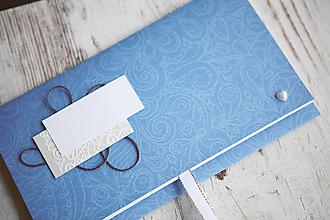 Papiernictvo - Scrapbook obálka na peniaze - svadobná - 9917625_