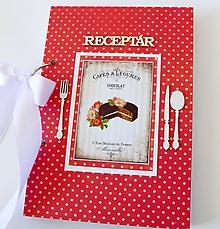 Papiernictvo - Receptár červený - 9914324_