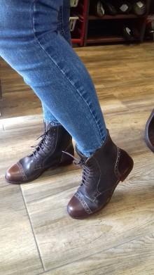 Obuv - Slovenský výrobok hand made dámské topánky z kože - 9917188_