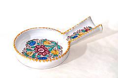 Nádoby - Ručne maľovaný farebný vareškár - 9914578_