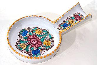 Nádoby - Ručne maľovaný farebný vareškár - 9914575_