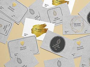 Grafika - VIZITKY pre tých, čo robia šperky - 9917932_