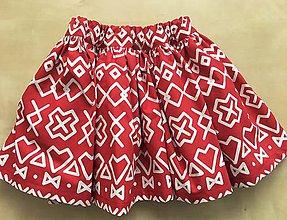 Detské oblečenie - detská sukňa Čičmany - 9914939_