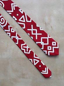 Doplnky - pánska kravata Čičmany - 9914969_