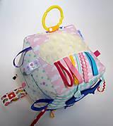 Hračky - Montessori kocka s rybkou - 9915304_