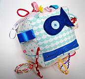 Hračky - Montessori kocka s rybkou - 9915310_