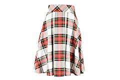 - sukňa s predným skladom