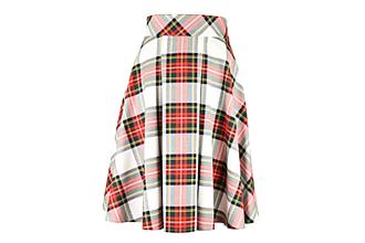 """Sukne - JESSIE - sukňa s predným skladom """"škótske káro"""" - 9917157_"""