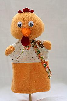Hračky - Maňuška. Zvieratko Sliepočka Betty - 9915370_
