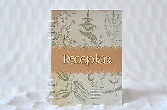 Papiernictvo - Receptárik - herbs - 9915817_