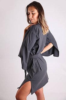 Šaty - Konopné šaty - 9916047_