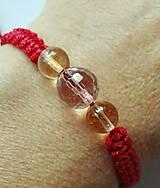 Náramky - Ochranný červený náramok Býk - 9916043_