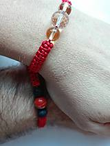 Náramky - Ochranný červený náramok Býk - 9916062_