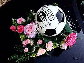Nezaradené - Futbalová lopta pre ženicha - 9915506_