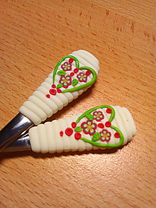 Pomôcky - Srdiečko na lyžičke - 9916742_