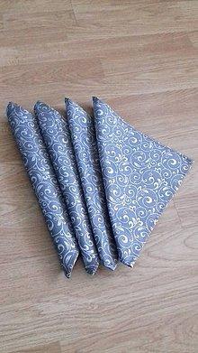 Úžitkový textil - Obrúsky štvorcové - 9916646_