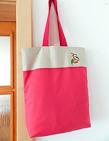 Nákupné tašky - Nákupka s vetvičkou - 9913958_