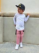 Detské oblečenie - Tepláky staroružové - RVL (104) - 9914422_