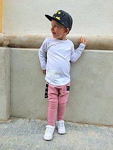 Detské oblečenie - Tepláky staroružové - RVL - 9914422_