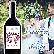 Darčeky pre svadobčanov - Svadobné etikety 43 - 9914194_