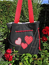 Kabelky - RECY - taška jeans - 9915468_