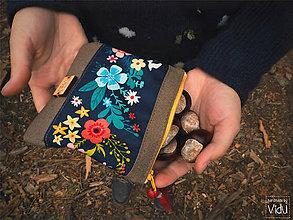 Taštičky - Floral kozmetická taška - 9917908_