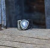 - Mesačný kameň - prsteň - 9917076_