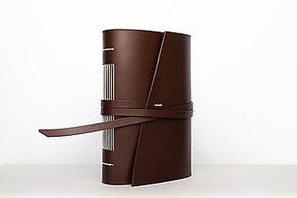 Papiernictvo - Kožený zápisník Ana - 9915317_